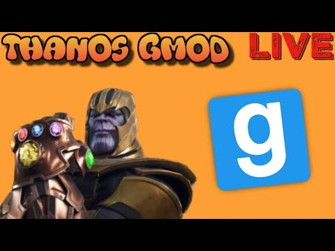 Can Thanos' INFINITY GAUNTLET SURVIVE EVERYTHING In Gmod?