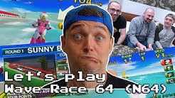 Lets play mit Sebastian & Daniel - Wave Race 64 - N64