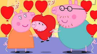 Peppa Pig Official Channel 💝 NEW 💝 Mummy Pig's Best Valentine's Day