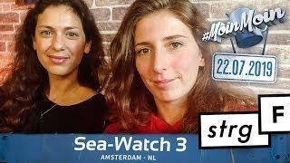 Was geschah an Bord der Sea Watch 3? | MoinMoin mit Sofia & Nadia Kailouli von STRG_F