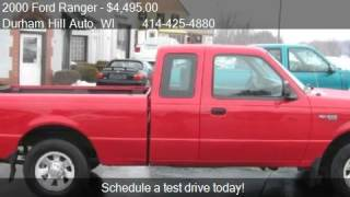 2000 Ford Ranger XLT SuperCab 2WD - for sale in Muskego, WI