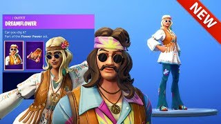 *NEW* 420 DREAMFLOWER & FAR OUT MAN SKINS! [SHOP UPDATE] FORTNITE BATTLE ROYALE