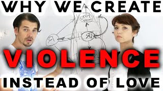 Why we create Violence instead of Love