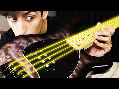 Download Youtube: GOLD STRINGS on BASS
