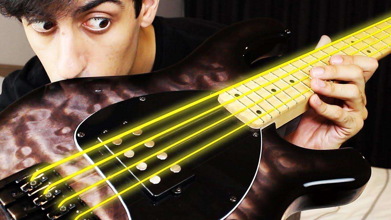 Guitar Strings Gold : gold strings on bass youtube ~ Hamham.info Haus und Dekorationen