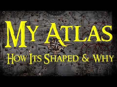 How My Atlas Is Shaped And Why  |  Shaped Versus Completed