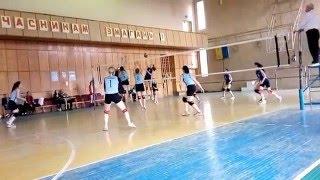 Волейбол. Чемпіонат Івано-Франківська серед жінок. ДЮСШ2 - ІФКФВ. 2 партія