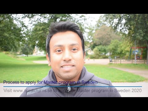 কিভাবে শুরু করবেন ? সুইডেন মাস্টার প্রোগ্রাম 2020 Process To Apply For Master Program In Sweden 2020