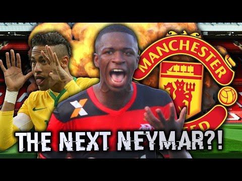 Will Manchester United Sign The 'Next Neymar'?! | Futbol Mundial