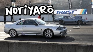 GT-R vs Corvette in Japan! No-prep all-class drag meet at Twin Ring Motegi thumbnail