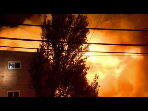 Several still missing after huge apartment fire in Maryland