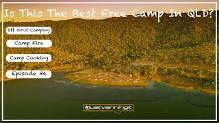 DO WE FIND QLDS BEST FREE CAMP ? |Free Camping|Caravanning Australia| Just Vanning It - Episode 36