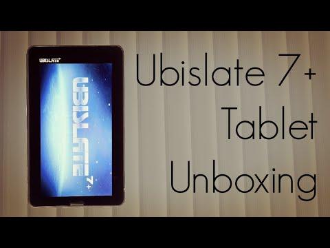 Ubislate 7+ Tablet Unboxing- Upgraded Aakash Package Content - PhoneRadar