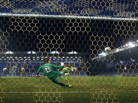 Liam O'Brien saves three Reading U23 penalties in Checkatrade Trophy shootout