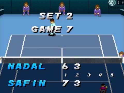 SNESOT Super Tennis WTFL WC A Semis - Nev (ARG) vs Nero (FRA)