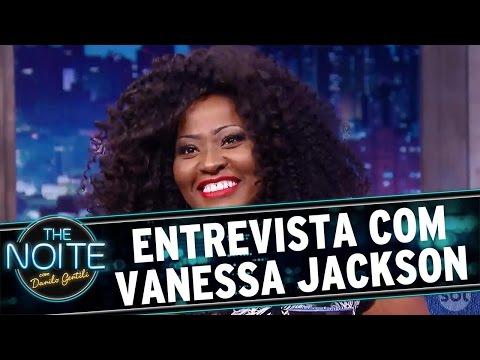 The Noite (07/10/16) - Entrevista com Vanessa Jackson