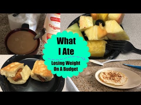 What I Eat In A Day | Losing Weight On A Budget