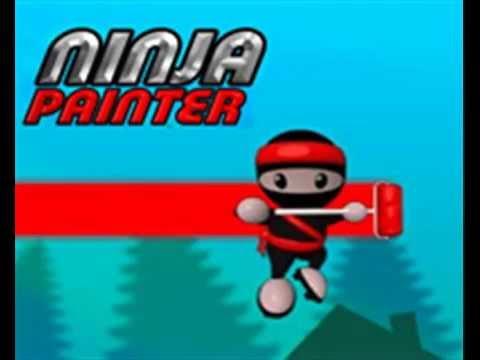 Ninja Painter Music 1 - YouTube  Ninja Painter M...