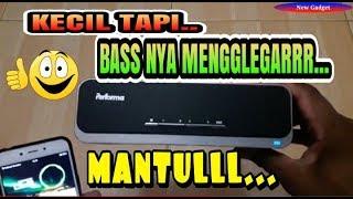 UNBOXING Speaker Bluetooth Rp.1Juta  || SUPER BASS BLUETOOTH SPEAKER PERFORMA PF 01