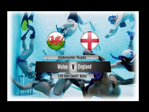 Underwater Rugby Wales V England
