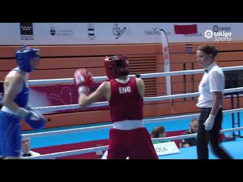 peso minimo boxeo femenino