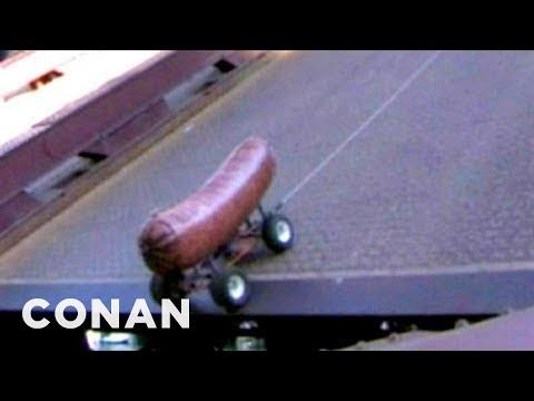 10-Foot Bratwurst Jumps 80 Feet Across Chicago