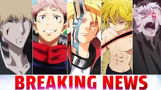 BLEACH ANIME RETURN To Be DARK, BORUTO FUTURE REVEAL, 7DeadlySins Sequel Movie, Batman TAS Sequel