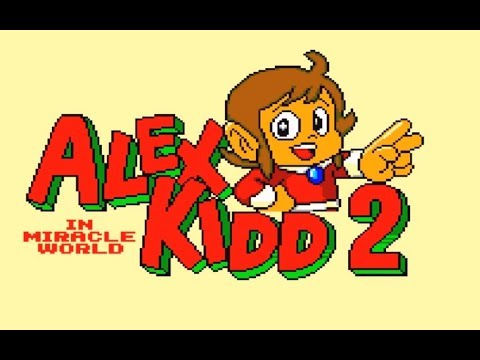 Alex Kidd in Miracle World 2  ( GAMEPLAY)
