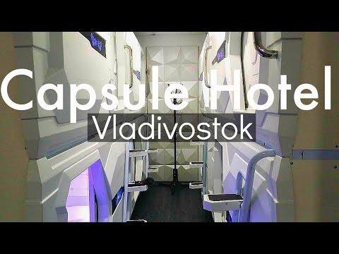 Russia Travel Vladivostok Capsule Hotel