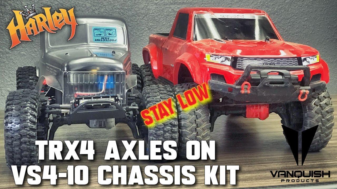 NEW Vanquish Axial SCX10-II VS4-10 CHASSIS KIT