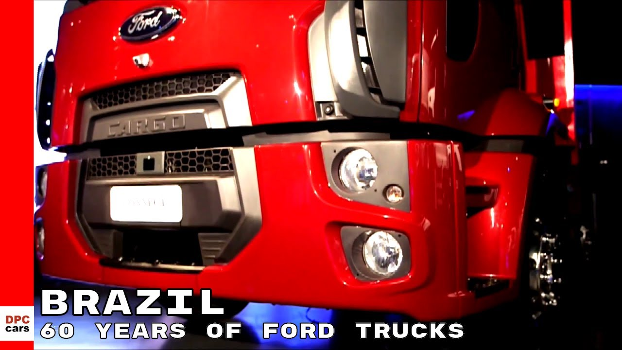 years  ford trucks  brazil featuring  ford cargo connect youtube