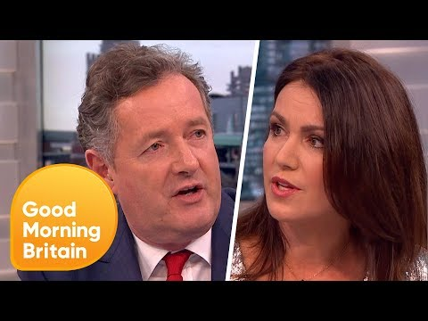 Piers Morgan and Susanna Reid's Fiery Feminism Row! | Good Morning Britain