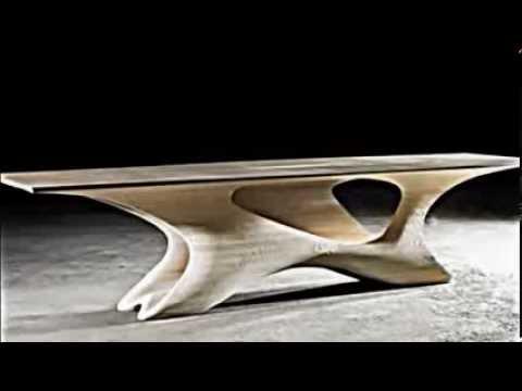 Erstaunliches futuristisches Esstisch Design - YouTube