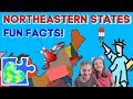 Northeast USA Fun Facts || Geography Quiz || New England Facts