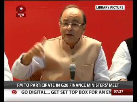 FM Arun Jaitley on 10-day visit to the US and Peru