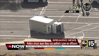Police involved in shooting in south Phoenix