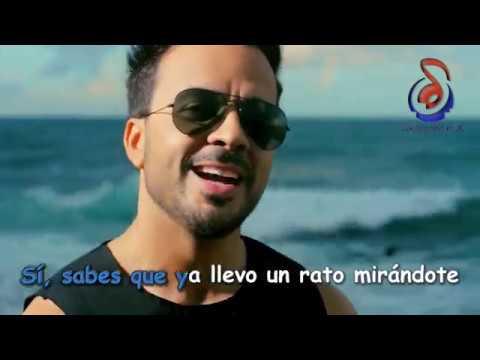 Luis Fonsi - Despacito ft. Daddy Yankee (LETRA VERSION KARAOKE)