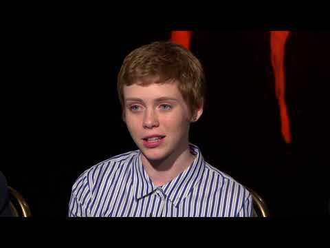 IT Interview - Jeremy Ray Taylor, Sophia Lillis,  Jack Dylan Grazer,  and Jaeden Lieberher