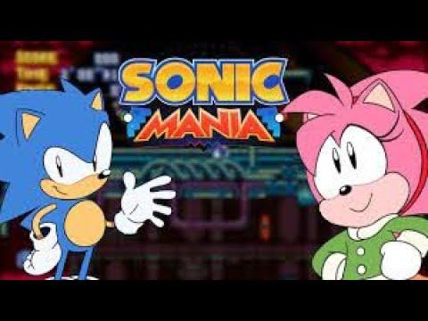Sonic mania Encore DLC StarDust SpeedWay HD VERSION  