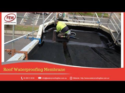 Concrete Roof – Best Waterproofing Product & Method - MELBOURNE