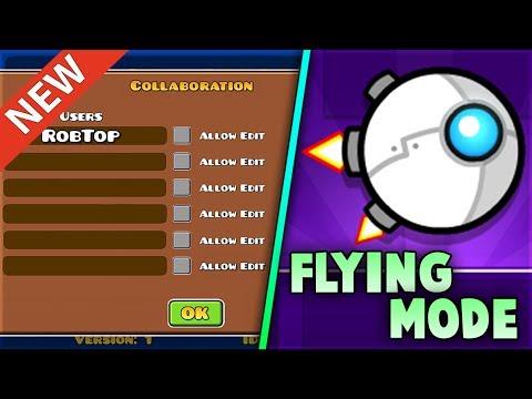"¿NUEVO ""MODO VOLADOR""? (Flying Mode) - Noticias Geometry Dash 2.11/2.2/2.21 | GuitarHeroStyles"