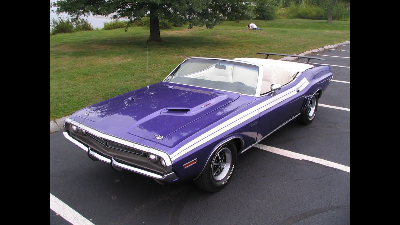 1971 dodge challenger 340 convertible this car is plum crazy youtube. Black Bedroom Furniture Sets. Home Design Ideas