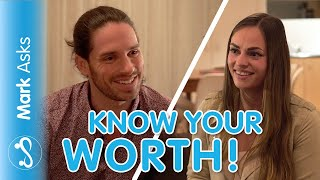 How To Feel Good Enough For A Guy - Self Worth In Dating | Mark Asks #9 ft. Natasha Op De Hipt