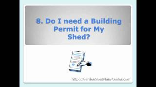 Shed Plans: 10 Key Decisions To Make Before Buying Plans