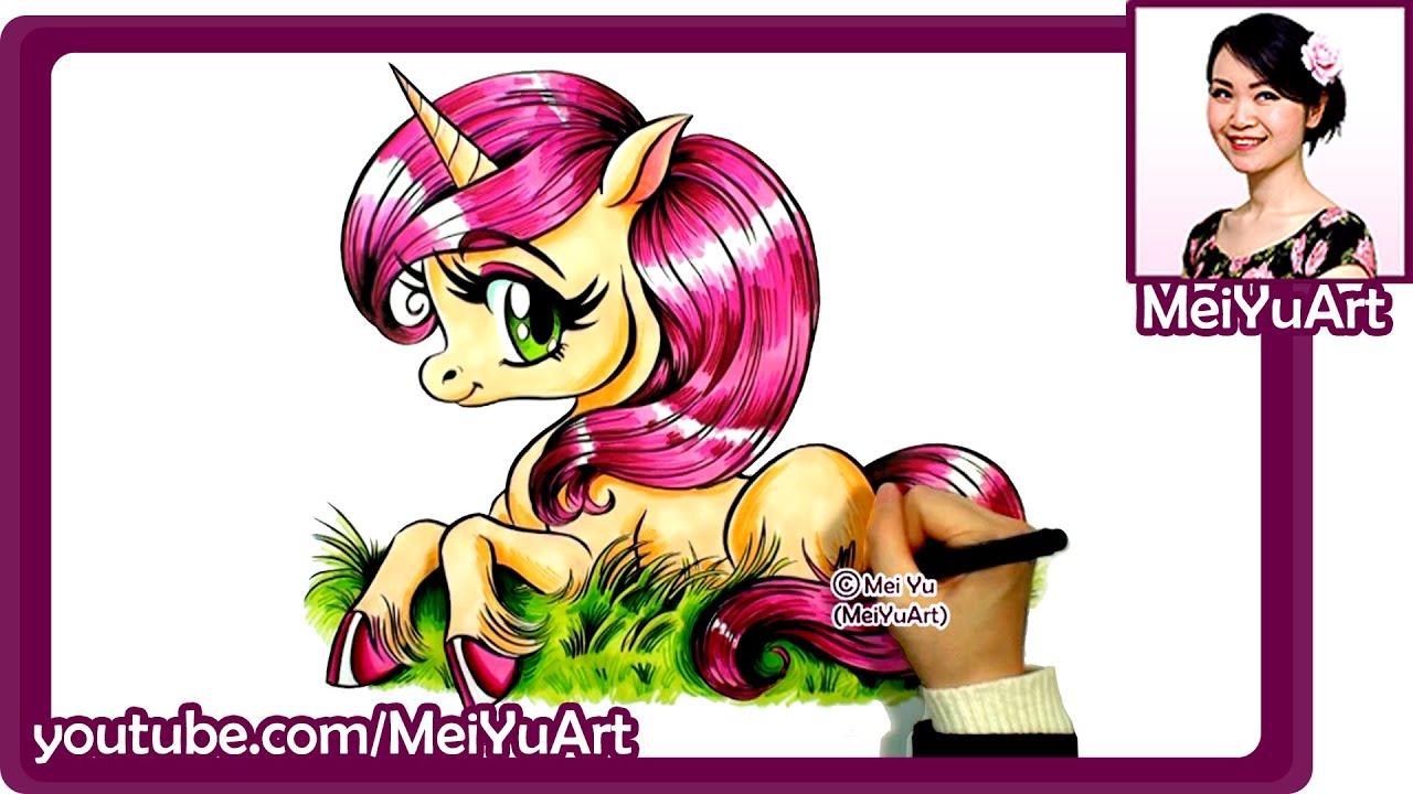 fun2draw level 1 how to draw a unicorn