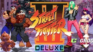 STREET FIGHTER III DELUXE - PC LONGPLAY - SHENG LONG and Psy-Akuma Playthrough (TEAM ARCADE MODE)