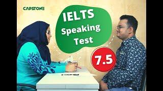 IELTS Speaking Demo Test 7.5