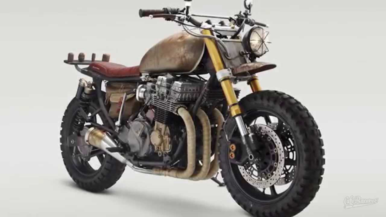 Honda CB750 Nighthawk Daryl Dixon Of The Walking Dead Classified Moto