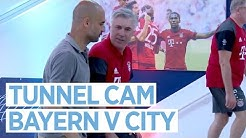PEP RETURNS TO BAYERN! TUNNEL CAM | Bayern Munich 1-0 Man City