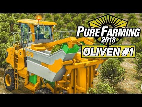 PURE FARMING 2018 #1: Olivenernte in Italien! | Preview der Landwirtschafts-Simulation deutsch